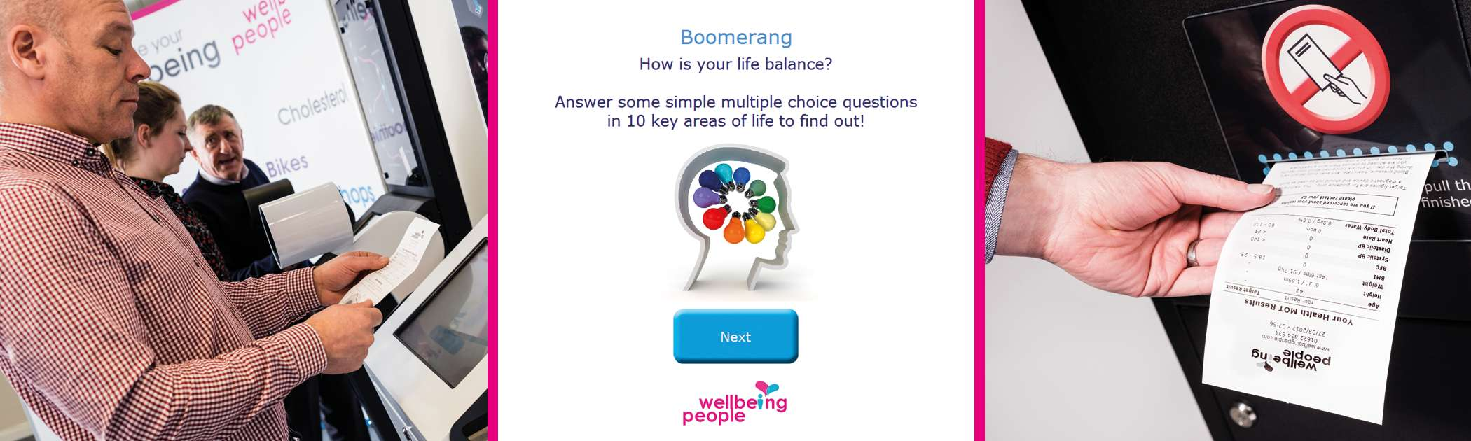 Boomerang Life Balance Application