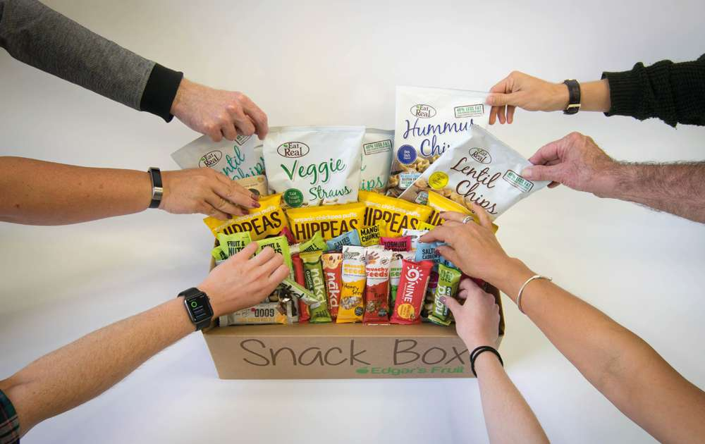 Large Edgars Healthy Snack Box