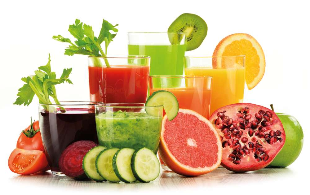 Raw Fruit and Vegetable Juices