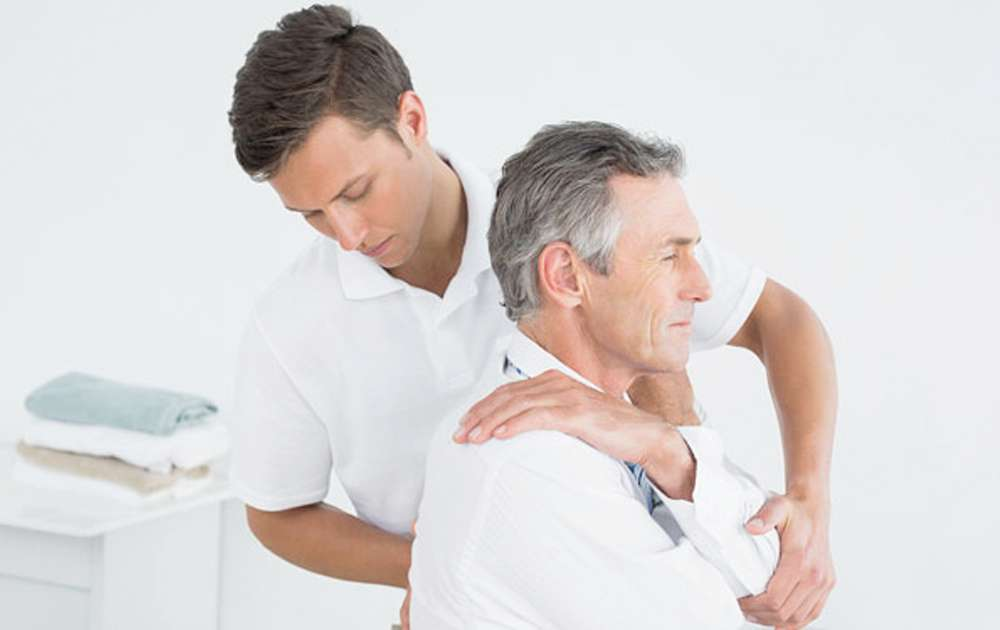 Male Back Therapy Onsite