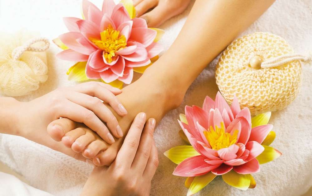 Relaxing Foot Care