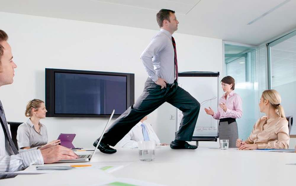 Exercise in an Office