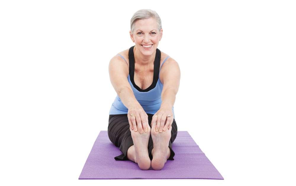 Happy Employee Yoga