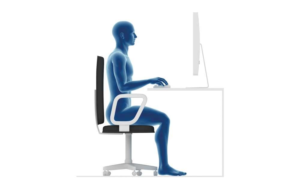 Desk Computer Posture