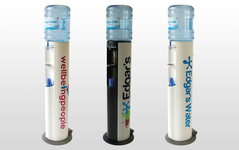 Edgars and Wellbeing People Personalised Water Coolers