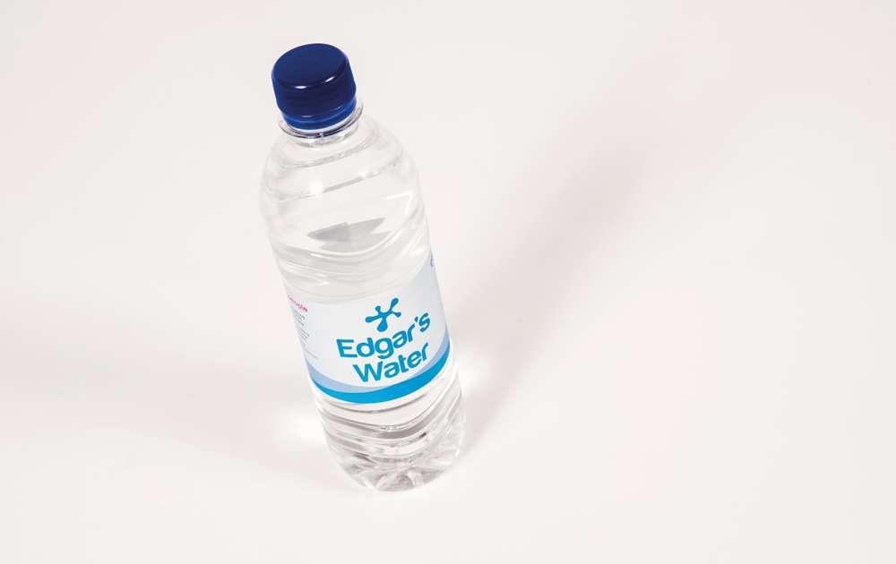 Single 500ml Edgars Water Bottle