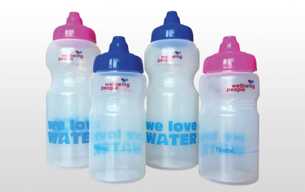 Wellbing People Water Bottles