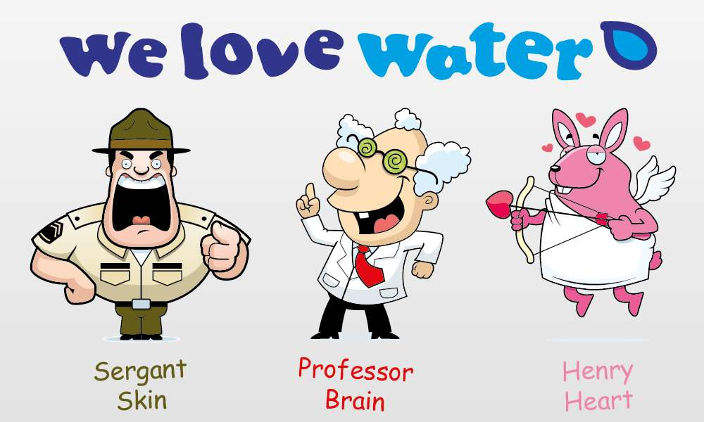 We Love Water Workshop Characters