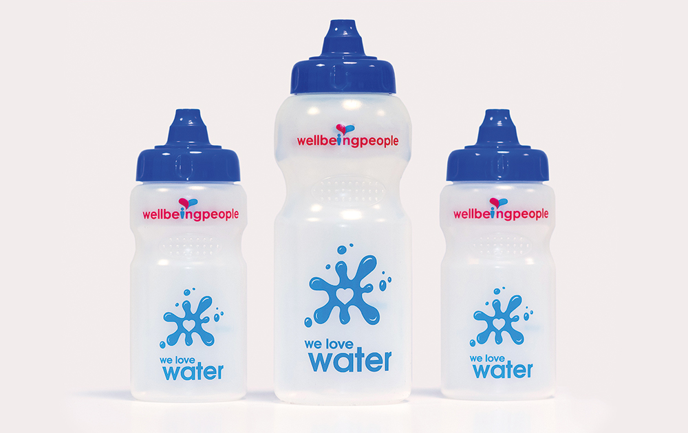 big and small school water bottles