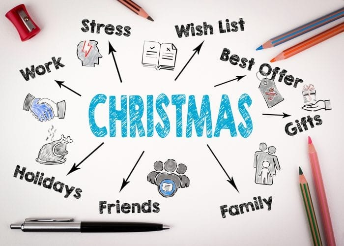 stress at christmas